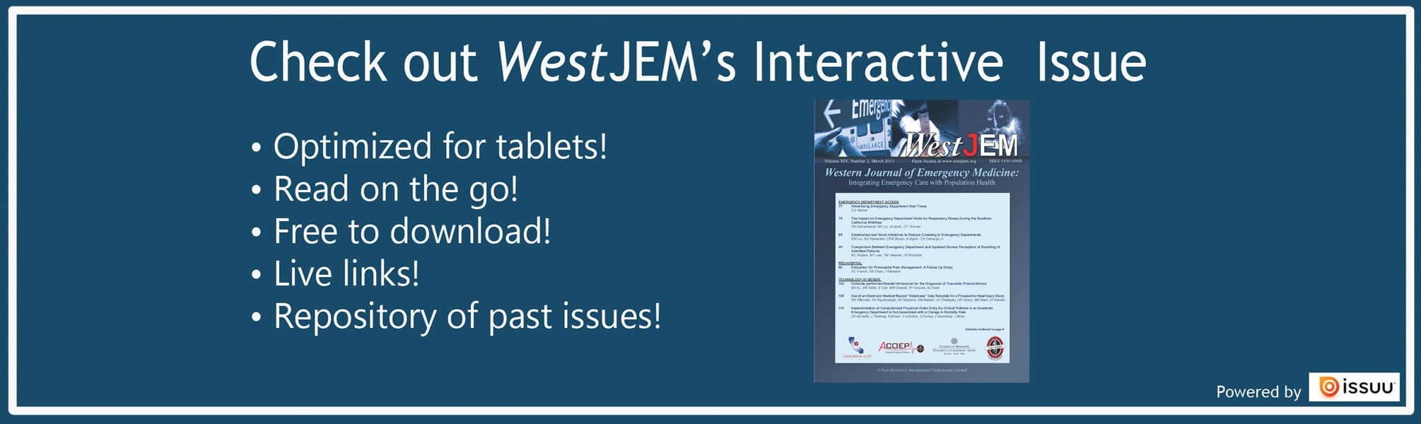 interactive banner for westejmcom