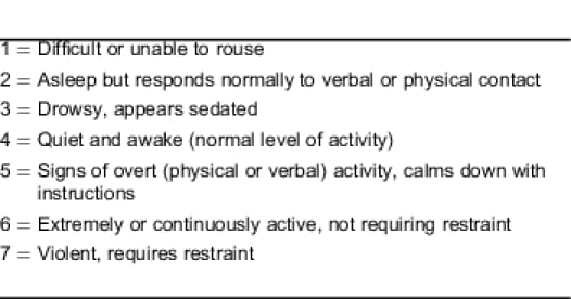 medical evaluation and triage of the agitated patient