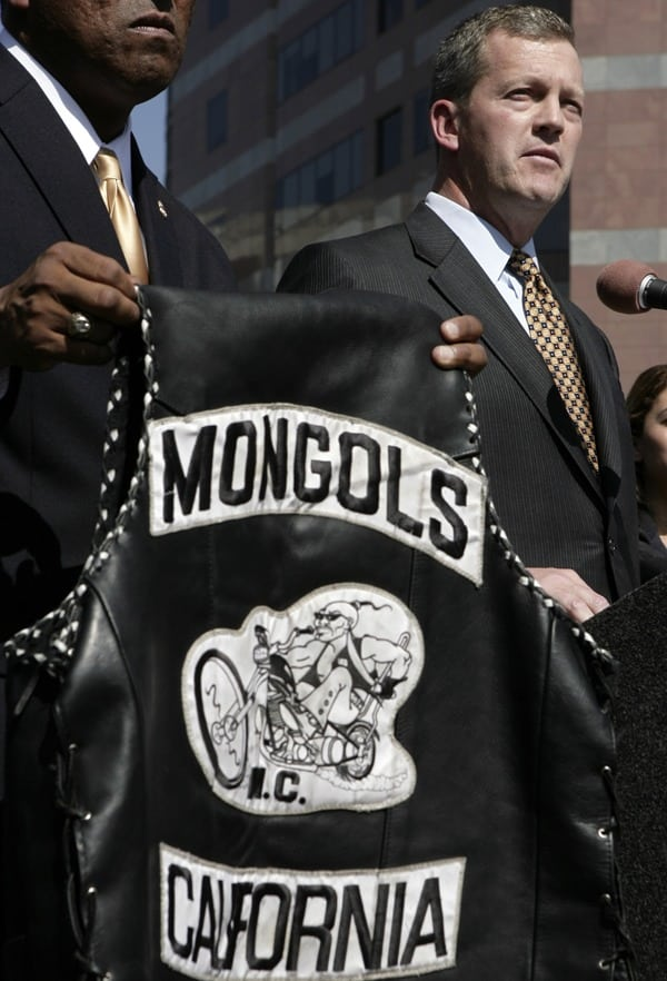 "Figure 2 The ""colors"" of the Mongols motorcycle club."