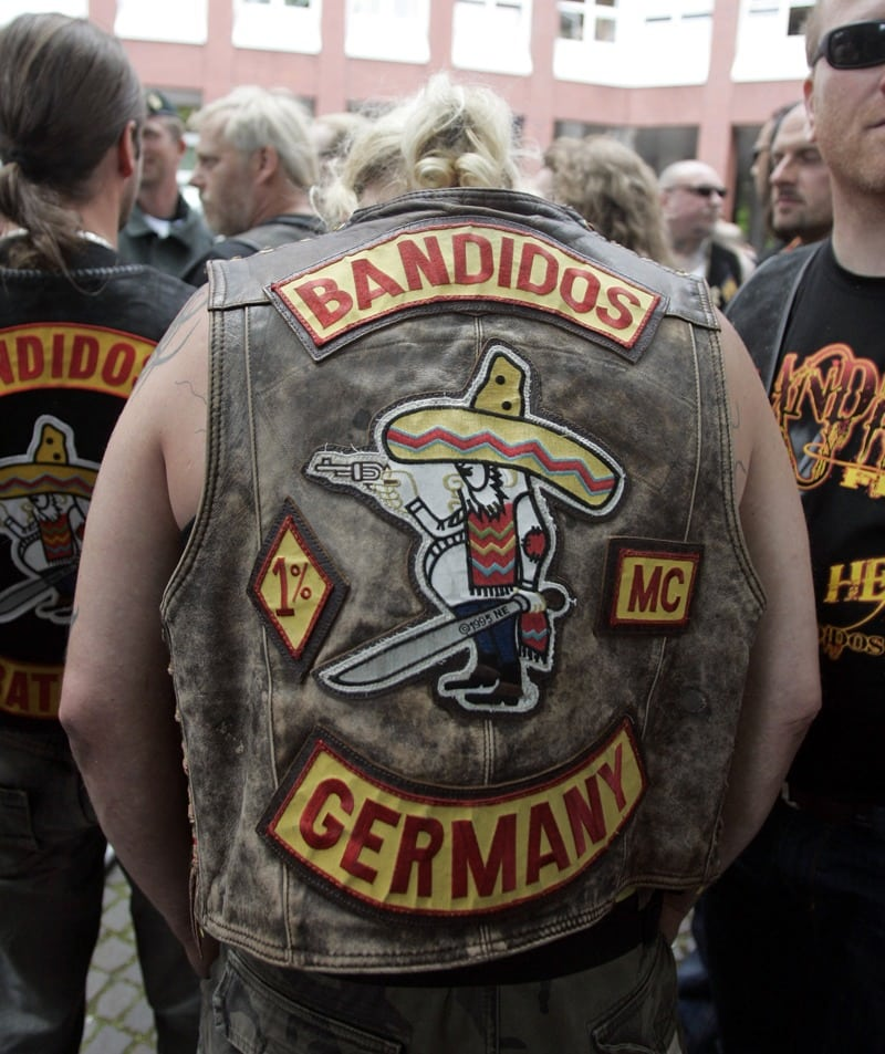 "Figure 4 The ""Fat Mexican"" logo of the Bandidos motorcycle club."